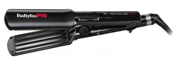 BABYLISS Щипцы -Гофре с Покрытием EP Technology 5.0, 38 мм babyliss щипцы выпрямители с покрытием ep technology 5 0