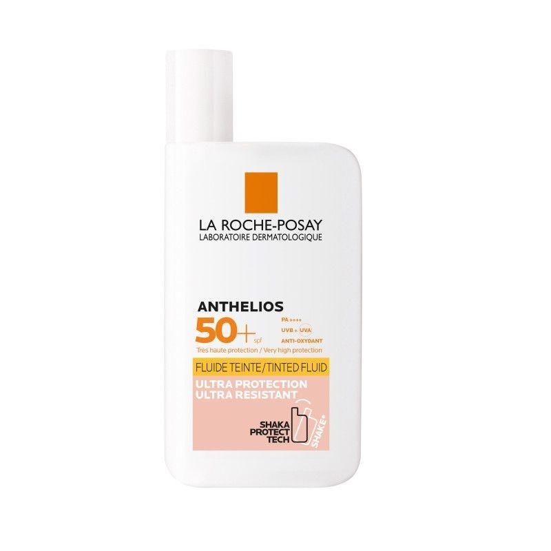 La Roche Posay Флюид Anthelios Тонирующий для Лица и Кожи вокруг Глаз SPF50+, 50мл