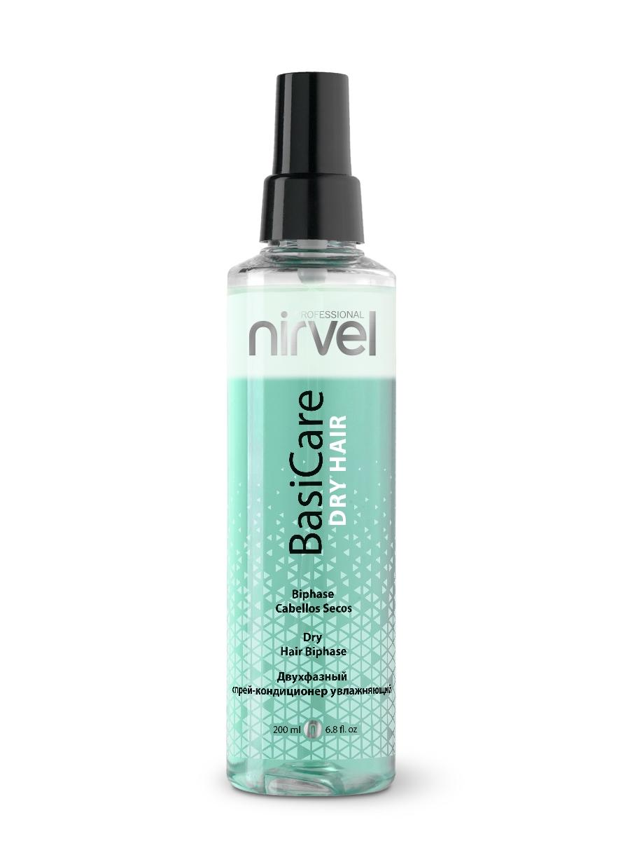 Nirvel Professional Спрей-Кондиционер Dry Hair Biphase Увлажняющий Двухфазный, 200 мл недорого