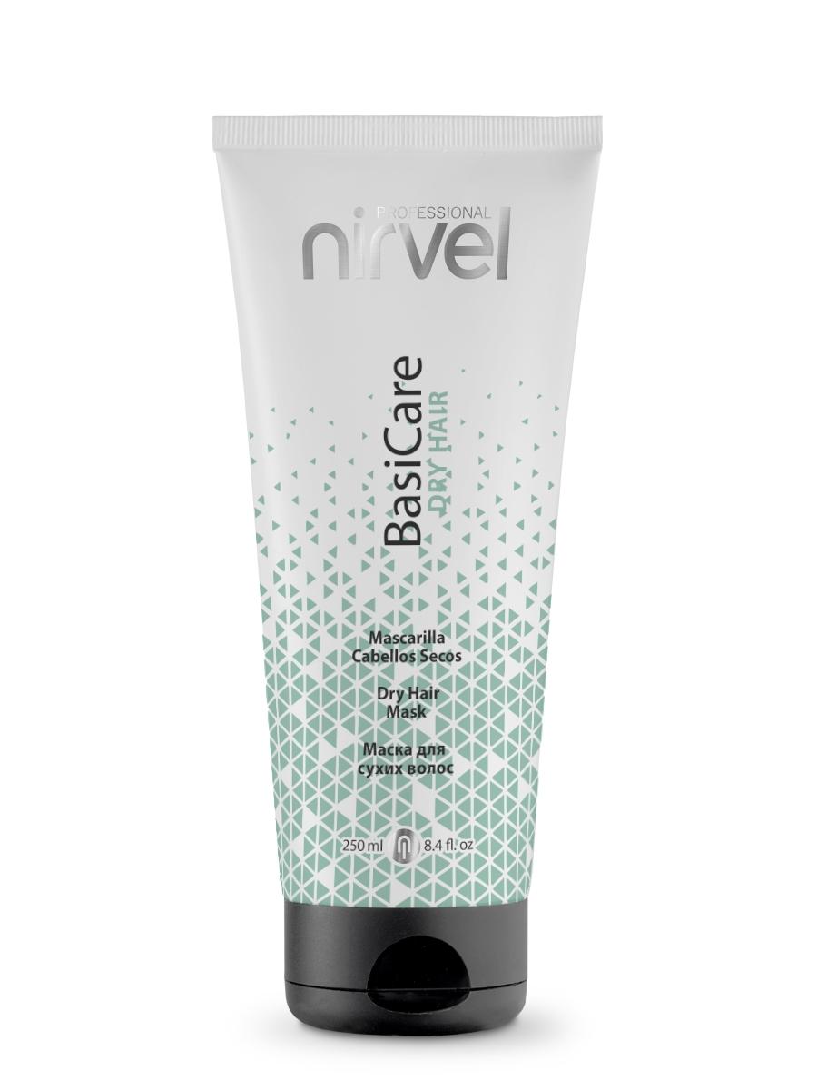 Nirvel Professional Маска Dry Hair Mask для Сухих Волос, 250 мл mirrolla маска гидробаланс для волос skin plus 250 мл