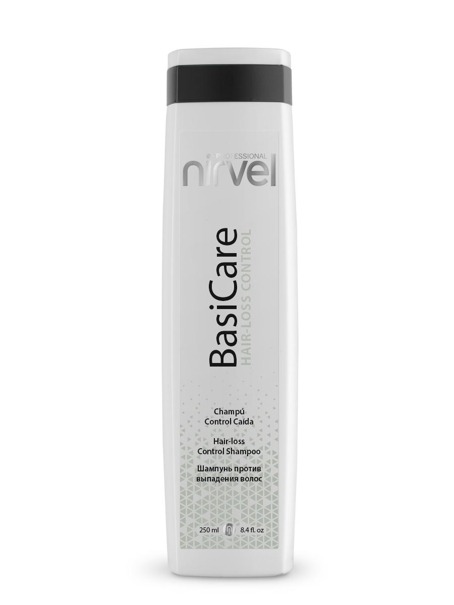 Фото - Nirvel Professional Шампунь Hair-Loss Control Shampoo против Выпадения Волос, 250 мл miriamquevedo шампунь extreme caviar special hair loss shampoo против выпадения волос с экстрактом черной икры 250 мл