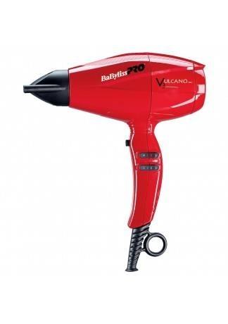 BABYLISS Фен VULCANO V3 с Ионизацией 2200W Красный babyliss фен vincero ion 2200w