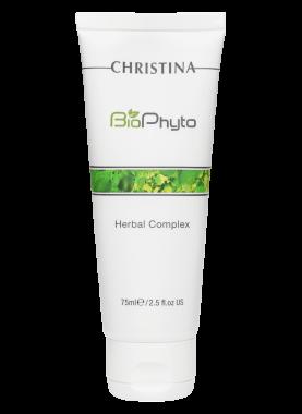 Christina Пилинг Bio Phyto Herbal Complex Растительный Облегченный, 75 мл phyto phytoprogenium
