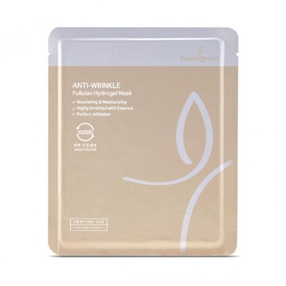 цены Beauty Cosmetic Маска Гидрогелевая с Омолаживающим Эффектом Pullulan Hydrogel Mask, 5 шт