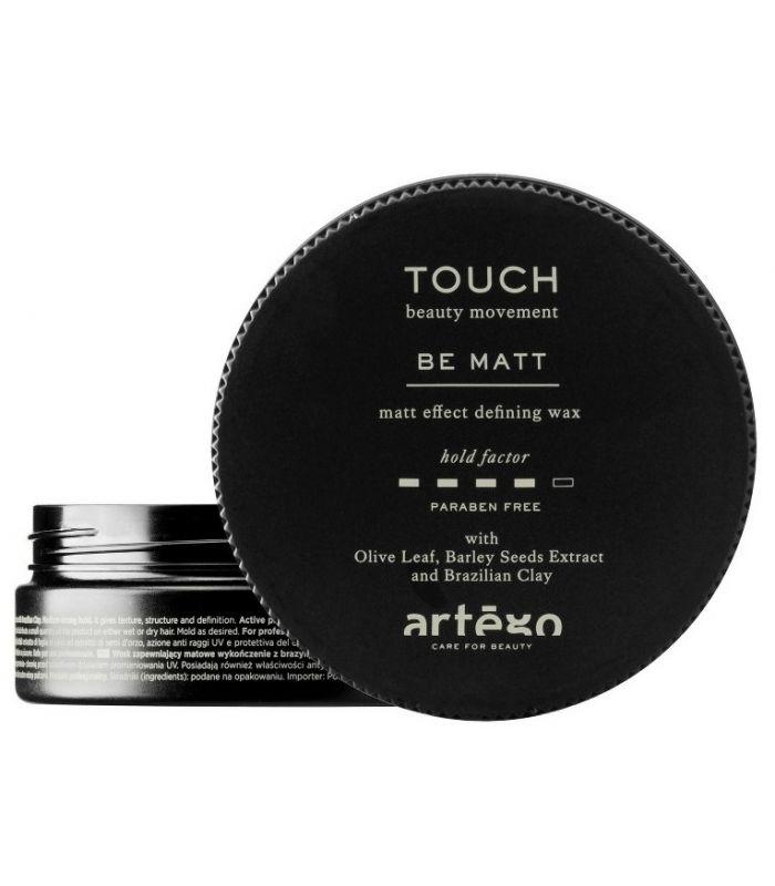 воск с матовым эффектом для укладки волос isoft matt clay wax 100 мл Artego Воск Be Matt с Матовым Эффектом,100 мл