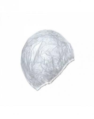 IGRObeauty Шапочка Полиэтиленовая для Душа на Резинке Одноразовая, 100 шт 0 pr на 100