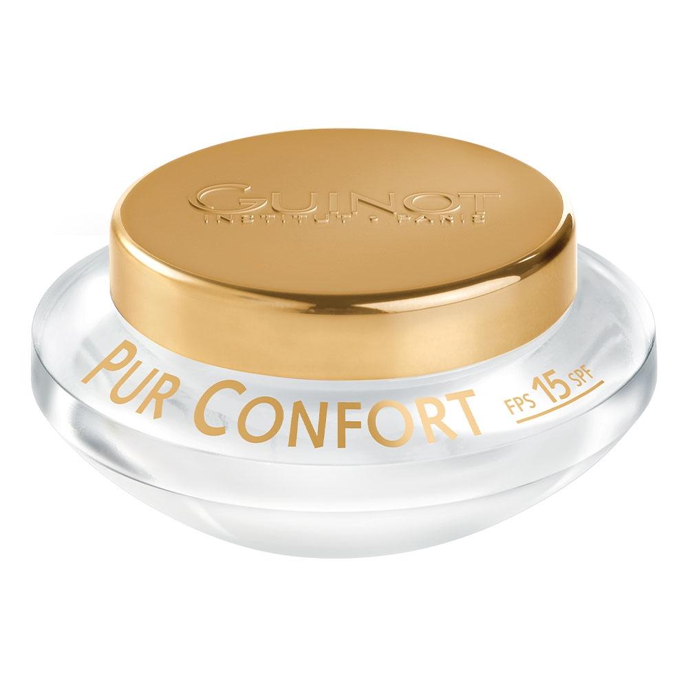 Guinot Крем Crème Pur Confort SPF 15 Успокаивающий Защитный SPF 15, 50 мл