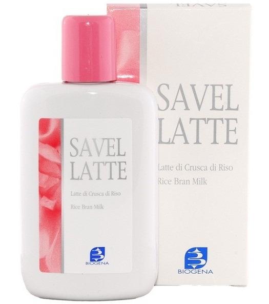 Histomer Очищающее молочко с рисовыми отрубями Biogena Savel Latte, 200 мл