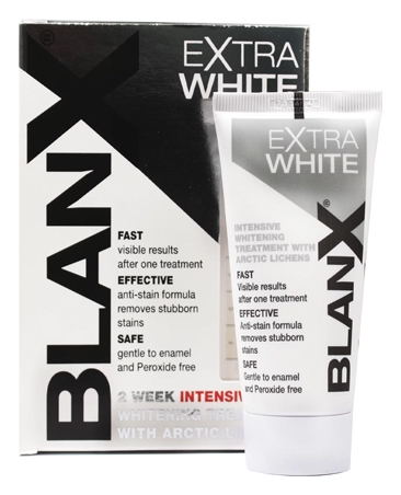 Blanx Зубная Паста Про-Интенсивно Отбеливающая Extra White, 50 мл