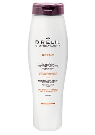 Brelil Professional Шампунь восстанавливающий Bio Traitement Repair Shampoo, 250 мл цены