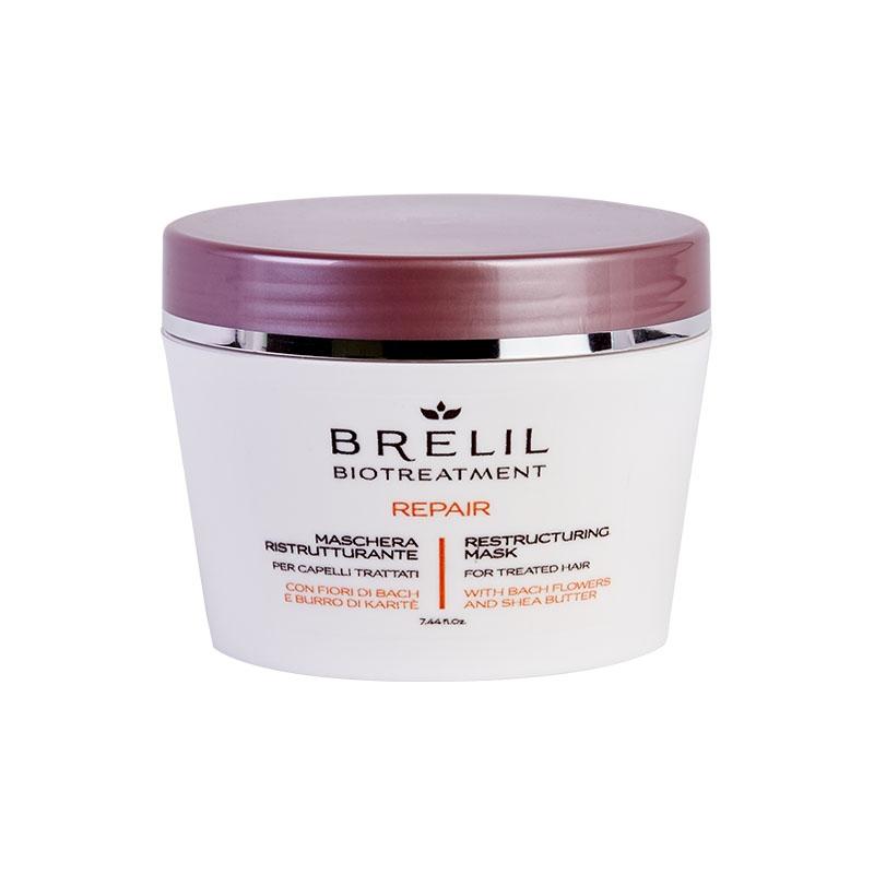 Brelil Professional Маска Bio Traitement Repair Mask восстанавливающая, 220 мл