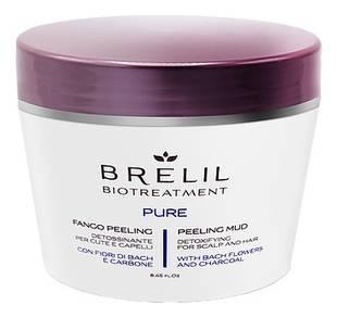 Brelil Professional Пилинг Грязевой Bio Treatment Pure, 250 мл