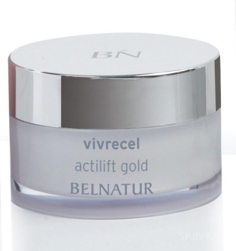Belnatur Vivrecel Actilift Gold Омолаживающий Нано-Крем с Золотыми Мерцающими Частицами, 50 мл