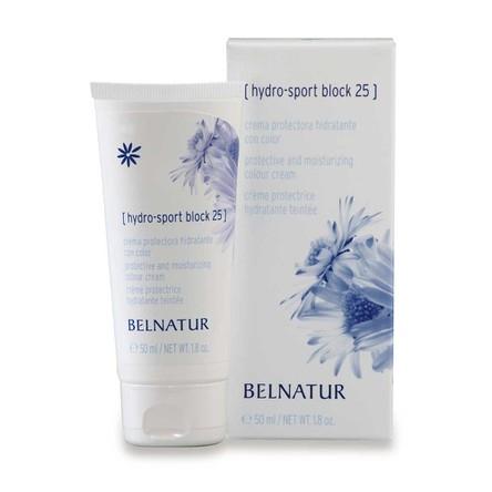 Belnatur Hydro-Sport Block 25 Увлажняющий Тонирующий Крем, 50 мл