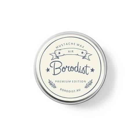 Borodist Воск для Усов Premium «Air Wax», 13г borodist воск для усов coffee wax 13г