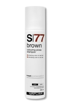 Napura Шампунь Brown S77 Оттеночный, 200 мл