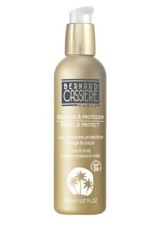 цена на Bernard CASSIERE Молочко Face and Body Medium Protection Milk Солнцезащитное для Лица и Тела SPF20, 150 мл