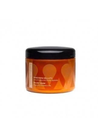 Barex Разглаживающая маска «Сияющий бархат» - Аргановое Масло и Масло Облепихи, 500 мл аргановое масло 100 мл huilargan