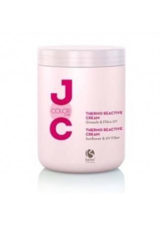 Barex Крем Термозащитный Стойкость Цвета, 1000 мл barex крем термозащитный barex joc color thermo reactive cream 100410 1000 мл