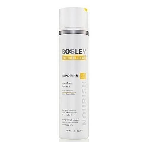 Bosley Шампунь Питательный для Нормальных/Тонких Окрашенных Волос, 300 мл bosley bosley уход увеличивающий густоту истонченных окрашенных волос 200 мл