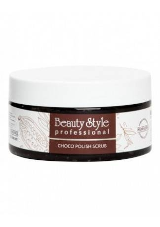 Beauty Style Сахарный Полиш-Скраб для Тела Choco polish scrub, 200мл самокат novatrack polis 230afs polis gl6