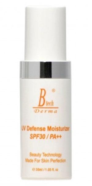 Btech Derma Крем Солнцезащитный Увлажняющий UV Defense Moisturizer SPF30, 30 мл цены