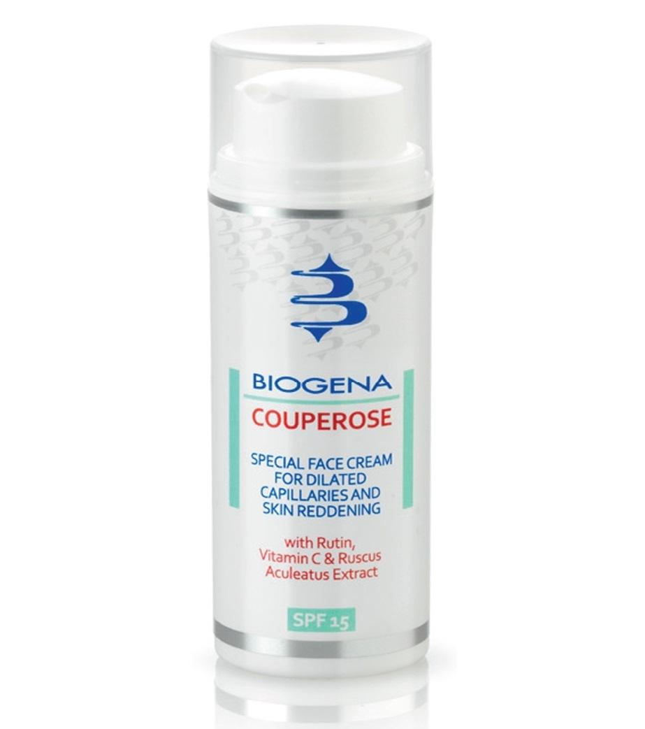 Histomer Тонизирующий дневной крем против покраснений и купероза SPF15 Couperose, 50 мл бадяга от купероза