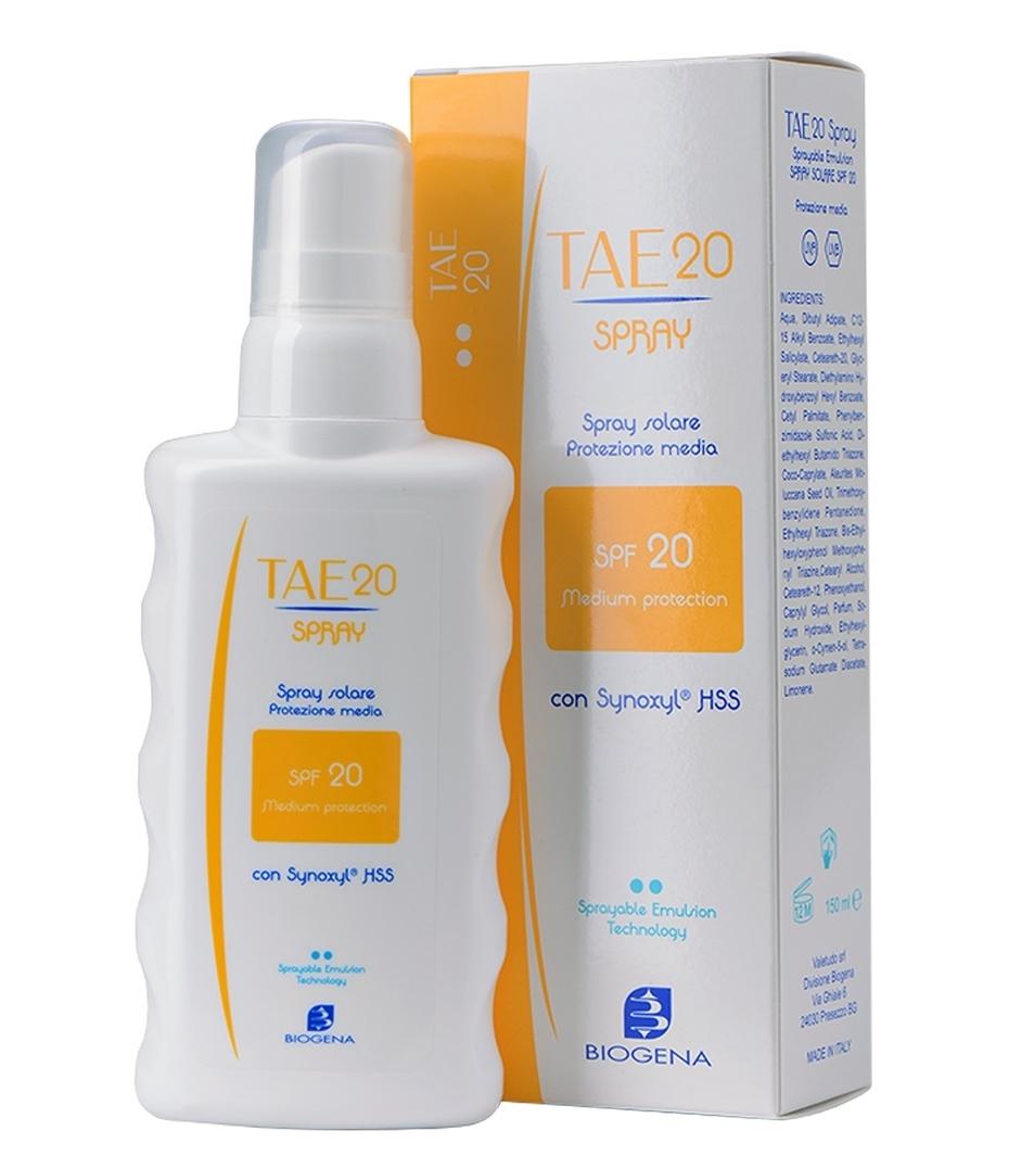 Histomer Солнцезащитная эмульсия-спрей SPF20 Tae Spray, 150 мл