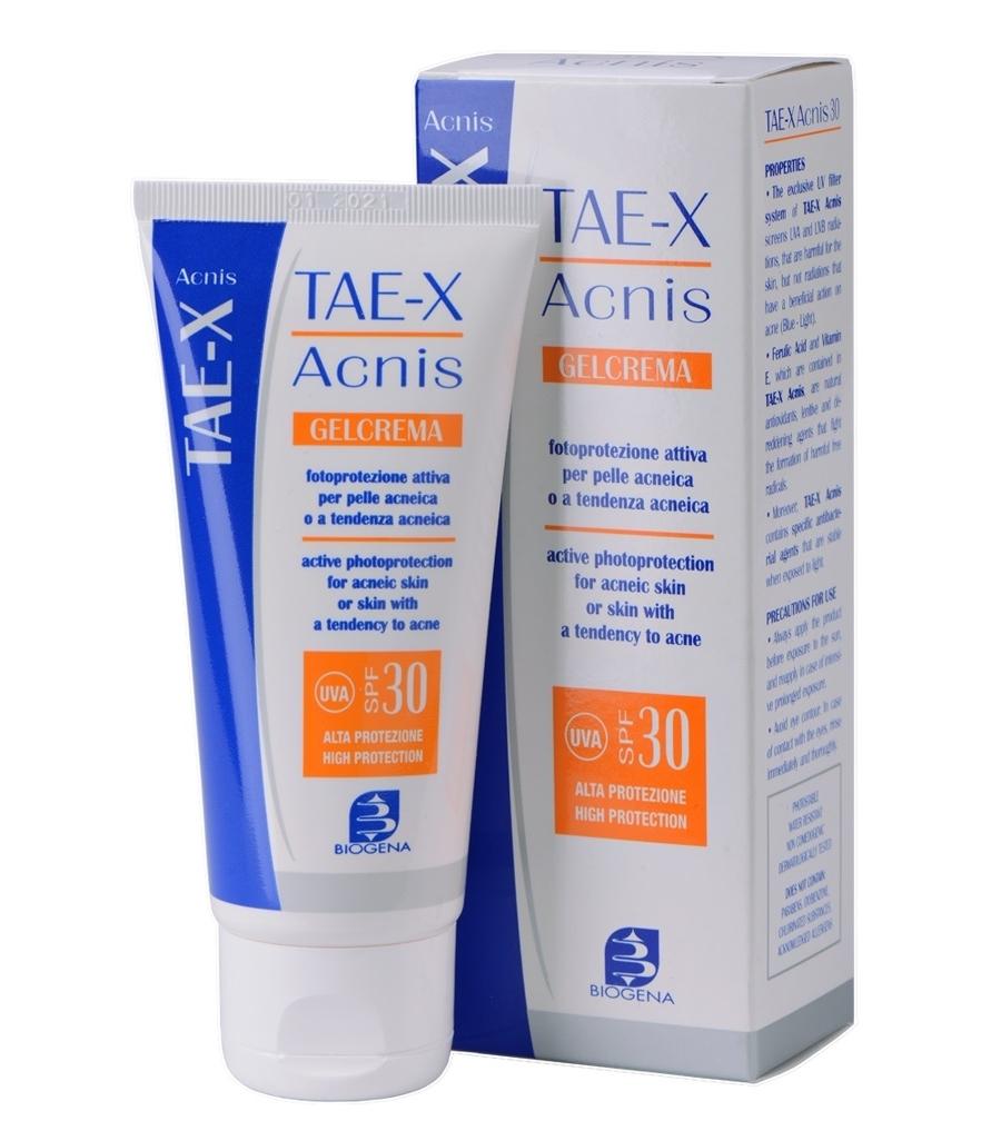 Histomer Солнцезащитный крем  для жирной кожи Тае SPF30 Tae X Acnis, 60 мл