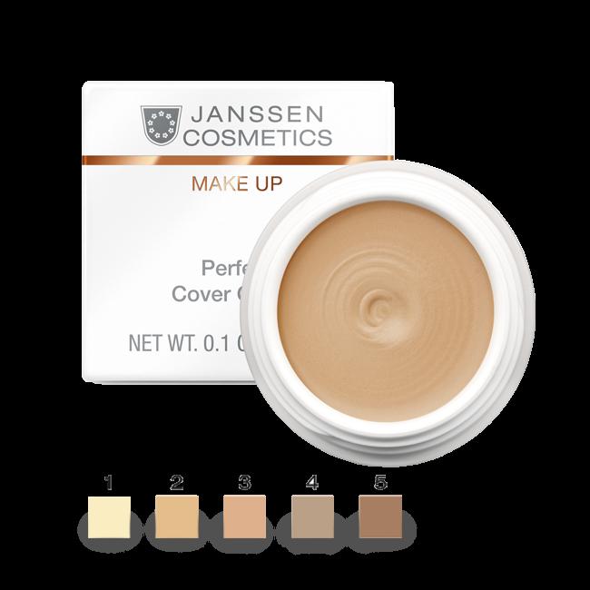Janssen Тональный Крем-Камуфляж Тон 2 Perfect Cover Cream, 5 мл