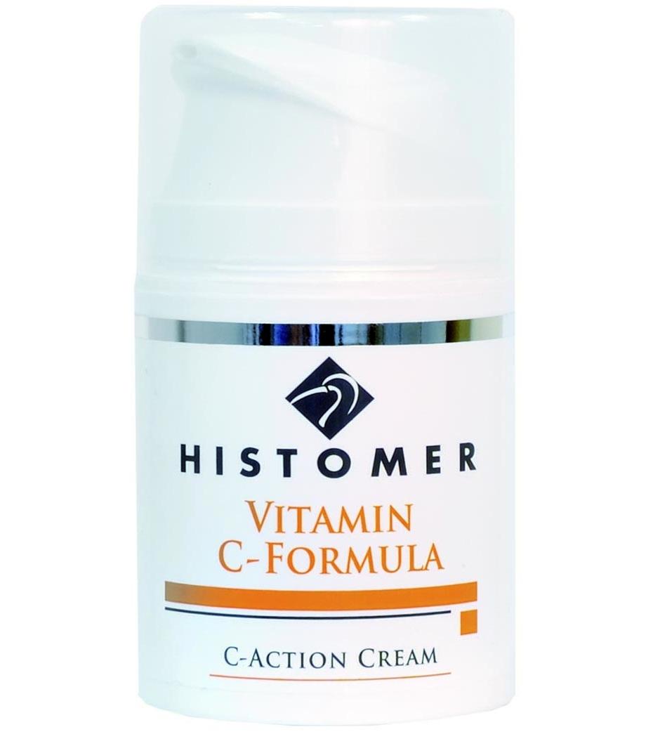 Histomer Крем для лица с Витамином С C Action Cream, 50 мл долива крем для лица увлажняющий с витамином е 50 мл