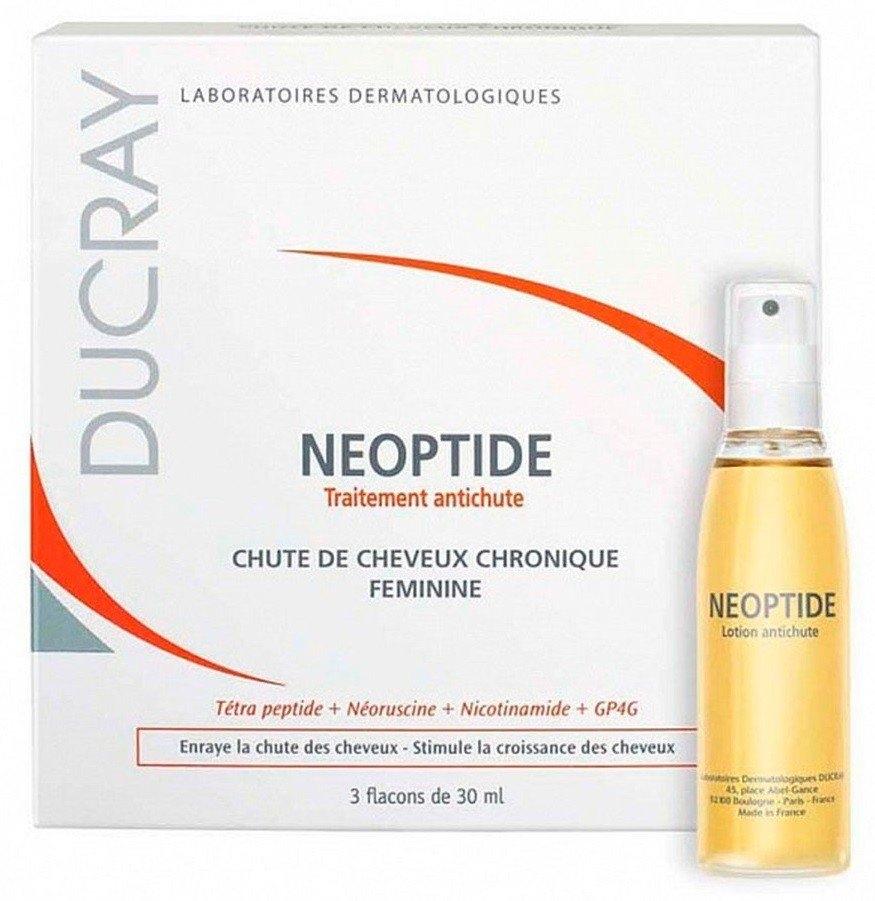 Ducray Лосьон Против Выпадения Волос Неоптид, 3*30 мл ducray от выпадения волос