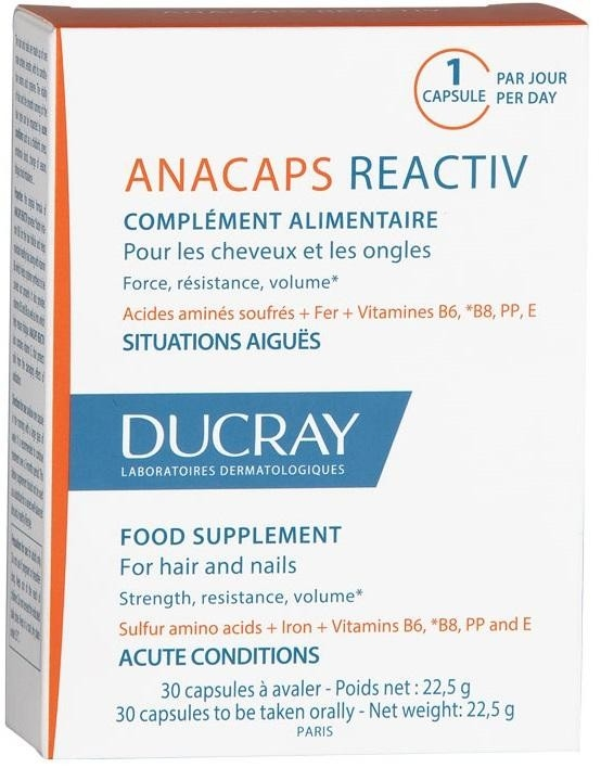 Ducray Капсулы Tri Activ Три Актив Анакапс №30 ducray anacaps tri activ 3 x 30 capsules
