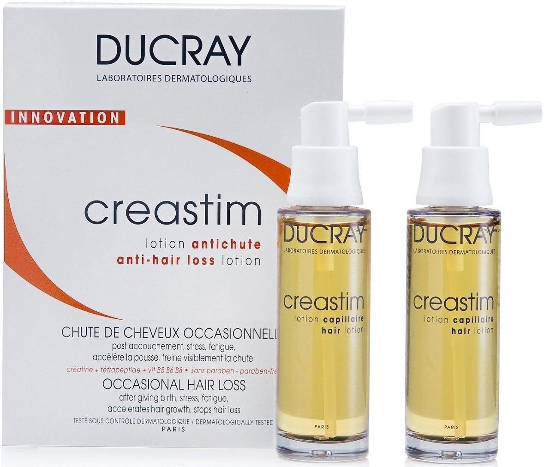 Ducray Лосьон Против Выпадения Волос Креастим, 2*30 мл ducray креастим лосьон против выпадения волос 30 мл 2 шт