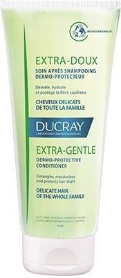Фото - Ducray Кондиционер Extra-Doux для Частого Применения Экстра-Ду, 200 мл ducray физиологический защитный шампунь сенсинол 200 мл ducray шампуни для частого применения