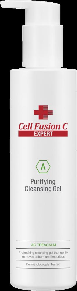 Фото - Cell Fusion C Гель Purifying Cleansing Gel Очищающий Пилинговый, 200 мл topicrem гель pv cleansing gel очищающий с антимикотическим эффектом pv 200 мл