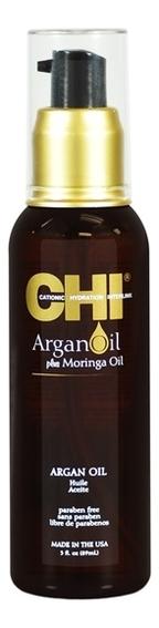 CHI Масло с Экстрактом Масла Арганы и Дерева Маринга Argan Oil, 89 мл