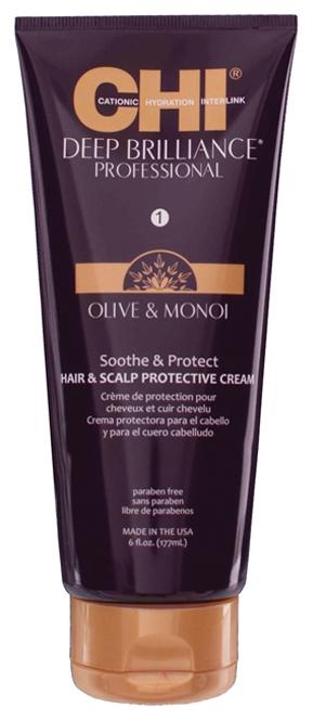 CHI Крем для Кожи Головы и для Защиты Волос Deep Brilliance Professional, 177 мл крем для кожи головы