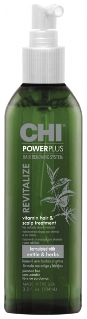 CHI Средство для Ухода за Волосами и Кожей Головы Восстанавливающее Power Plus, 104 мл проблемы с кожей головы