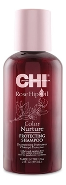 CHI Шампунь с маслом шиповника Rose Hip Oil, 59 мл chi сухой шампунь take 2dry shampoo kardashian beauty black 159 мл