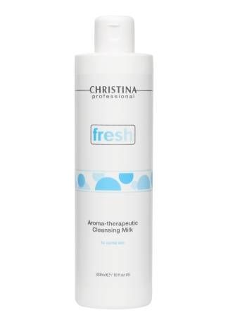цены Christina Молочко Fresh Aroma Therapeutic Cleansing Milk for Normal Skin Ароматерапевтическое Очищающее для Нормальной Кожи, 300 мл