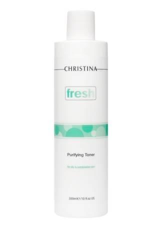 Christina Fresh Очищающий Тоник для Жирной Кожи, 300 мл все цены