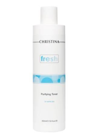 Christina Тоник Fresh Purifying Toner for Normal Skin  Очищающий для Нормальной Кожи, 300 мл