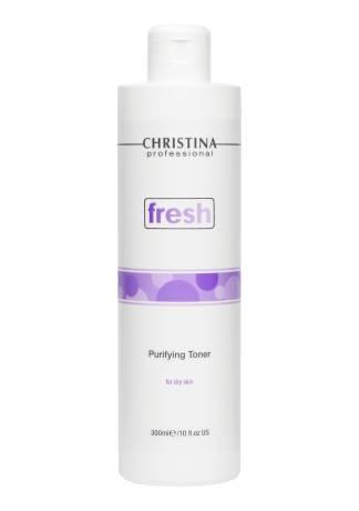 Christina Fresh Очищающий Тоник для Сухой Кожи, 300 мл недорого