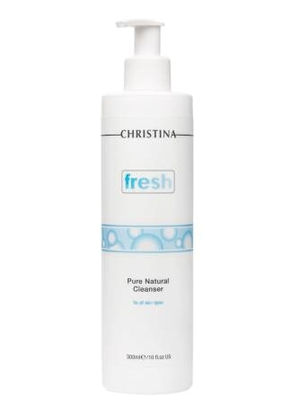 Christina Гель Fresh Pure Natural Cleanser Натуральный Очищающий для Всех Типов Кожи, 300 мл