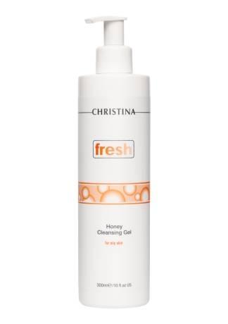 Christina Fresh Медовый Очищающий Гель для Жирной Кожи, 300 мл гель для душа fresh line кокос и вербена 300 мл
