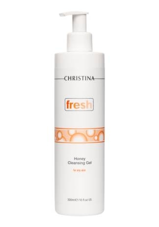 Christina Гель Fresh Honey Cleansing Gel for Oily Skin Медовый Очищающий для Жирной Кожи, 300 мл