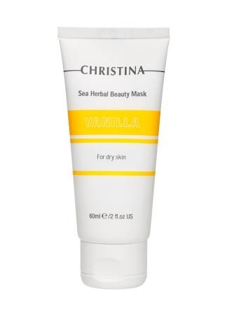 Christina Маска Sea Herbal Beauty Mask Vanilla for Dry Skin Красоты Ванильная для Сухой Кожи, 60 мл