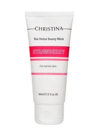Christina Маска Sea Herbal Beauty Mask Strawberry for Normal Skin Красоты  Клубничная для Нормальной Кожи, 60 мл