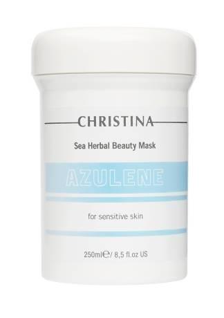 Christina Маска Sea Herbal Beauty Mask Azulene for Sensitive Skin Азуленовая Красоты для Чувствительной Кожи, 250 мл